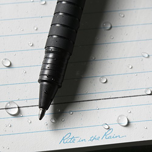 Rite in the Rain All-Weather Durable Clicker Pen - Black Ink (No. 93K) by Rite In The Rain (Image #3)