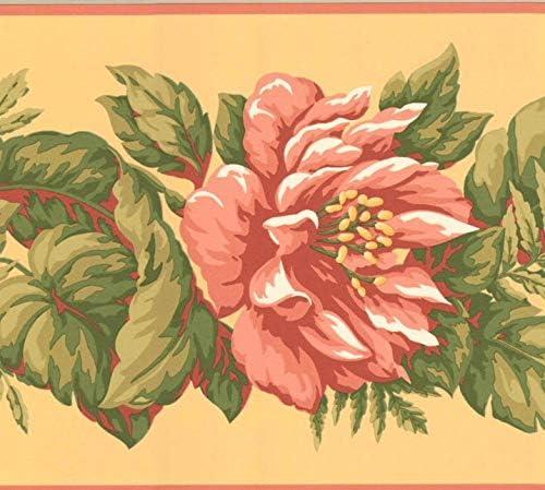 Floral Wallpaper Border B28974