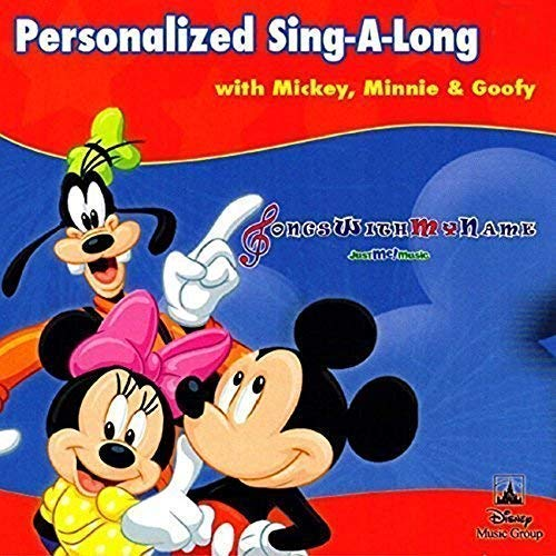 Gombita Enterprises Children Name Personalized - MP3 Digital Download (Not By Mail) - Sing Along With Mickey & Friends