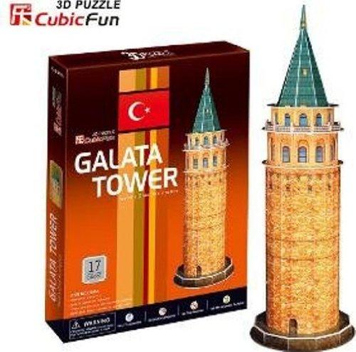 3D Puzzle - Turkey, Istanbul: Galata Tower - Ravensburger Block