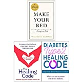 Books : Make Your Bed [Hardcover], The Healing Code, Diabetes Type 2 Healing Code 3 Books Collection Set
