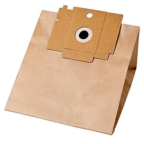 R106K, 8 bolsas filtro de papel para Rowenta Spazio RS 610 ...