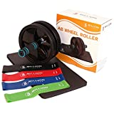 Best Ab Workout Equipment - 5BILLION Ab Wheel Fitness Equipment Kit with Knee Review