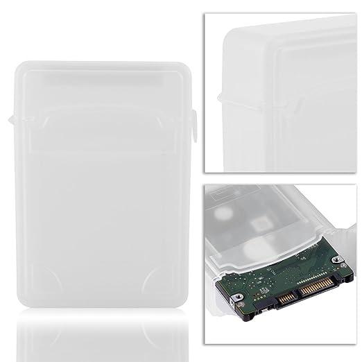 Richer-R Caja de Almacenamiento para HDD/SSD,Funda Universal para ...