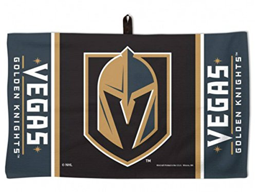 Las Vegas Golden Knights NHl Golf Waffle Towel 14 X 24