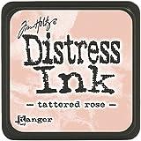 Tim Holtz Distress Mini Ink Pads-Tattered Rose