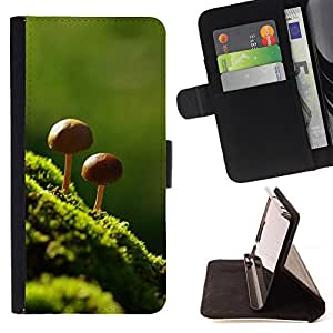 Jordan Colourful Shop - Nature Beautiful Forrest Green 8 For Sony Xperia M2 - Leather Case Absorci???¡¯???€????€?????????