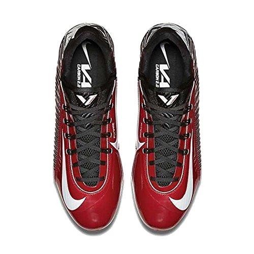 Botines 13 Rojo UU para de Carbon M universitario gris TD Vapor fútbol Nike Elite hombre D EE rH6Urqx