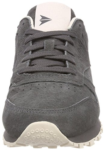 Sneakers Reebok Basses Leather ash Classic Greypale Gris Tonal Femme Pink Nbk XrPIrw