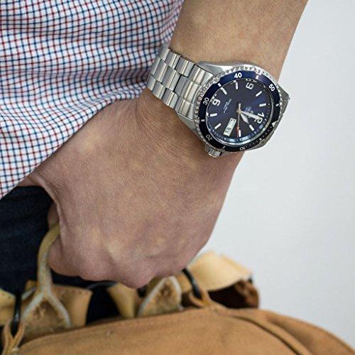 22mm Endmill 316l Ss Watch Bracelet For Orient Mako Ii Ray Ii