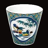 KUTANI YAKI(ware) Sake Cup Mandarin duck