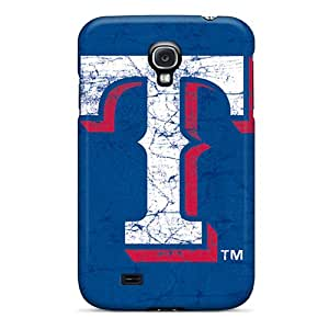 Shockproof Cell-phone Hard Cover For Samsung Galaxy S4 (Ntw13556HpzB) Allow Personal Design High-definition Texas Rangers Pictures