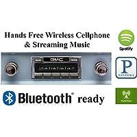 Bluetooth Enabled 1960-1963 GMC Truck USA-630 II High Power 300 watt AM FM Car Stereo / Radio USB, Aux, iPod inputs