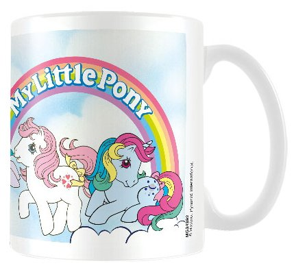 My LIttle Pony 80s Rainbow Graphic Logo Mug