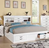 ACME Furniture Louis Philippe III 24490Q Queen Bed with Storage Deal (Small Image)