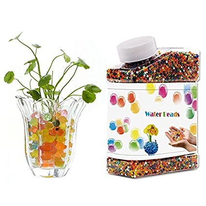Amazon Com Water Gel Bead Ideep Colorful Mix Water Beads Jelly