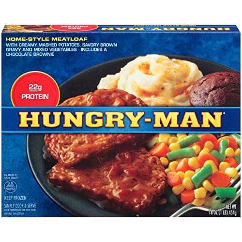 Hungry Man Home-Style Meatloaf Dinner 16 oz Pack of 8 by Hungry-Man (Image #1)