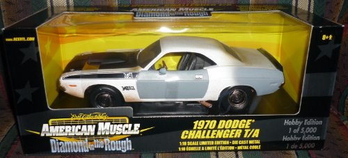 #36683 Ertl American Muscle 1970 Dodge Challenger T/A Diamond in the Rough 1/18 Scale Diecast