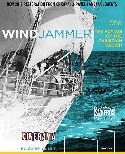 Windjammer: The Voyage of the Christian Radich (Restored Cinerama) [Blu-ray] [Import]