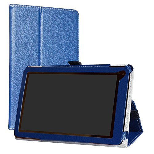 (RCA 7 Voyager III Case,LiuShan PU Leather Slim Folding Stand Cover for 7