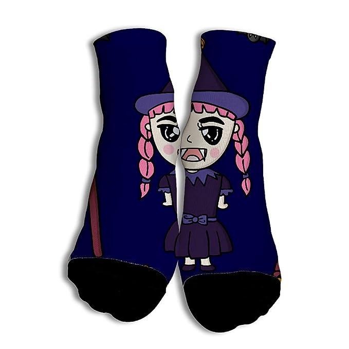 Calcetines Divertidos Female Vampire para Hombres Mujer 2018 Otoño Calcetines de Colores de Moda con Buena Calidad para Niñas White: Amazon.es: Ropa y ...