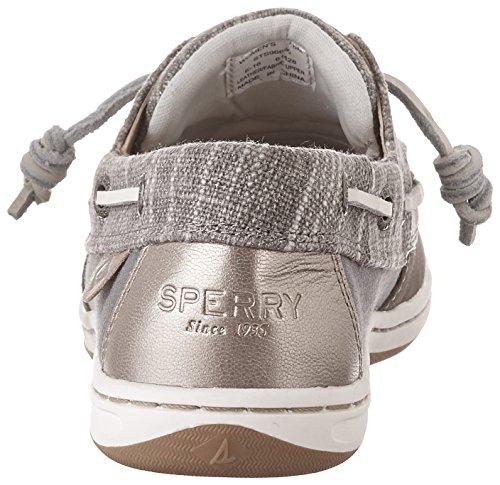 Chanteur Spatule Top-sider Sparkle Chaussure De Bateau Gris