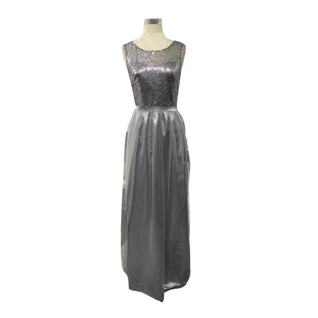 Formal Wedding Bridesmaid Dress, DIKEWANG Trendy Long Evening Party Ball Prom Gown Dress: Amazon.co.uk: Clothing