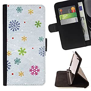 Momo Phone Case / Flip Funda de Cuero Case Cover - Nieve del invierno de la Navidad Regalo - LG G4 Stylus H540