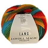Lang Yarns Jawoll Magic Laine dégradée Ara macao