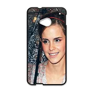 HTC One M7 Cell Phone Case Black_ha18 emma watson goddess girl film face TR2351167