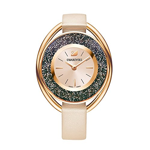 Swarovski Crystalline Oval Ladies Watch - Pink - 5296319