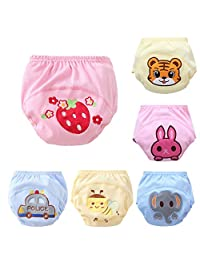Skhls New Anti Leakage Training Pants Baby Cute Potty Training Pants Set of 6 Pieces
