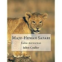 Maju-Hewan Safari: buku mewarnai