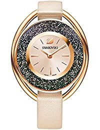 Crystalline Oval Ladies Watch - Pink - 5296319