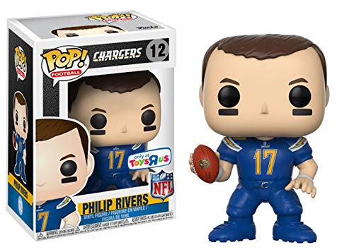 Diego Chargers San Uniform (Funko POP! NFL Football Wave 4 Los Angeles Chargers - Philip Rivers (Color Rush Uniform) - Toys R Us Exclusive)