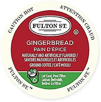 18-Count Fulton St. Gingerbread RealCup Coffee Pod/Capsules