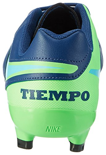 rage Genio Blue Nike Da Tiempo Fg Uomo Scarpe Ii Green Blue polarized coastal Blu Leather Calcio 7CgUqxUw