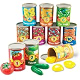 Learning Resources One To Ten Counting Cans Toy Set, 65 Pieces