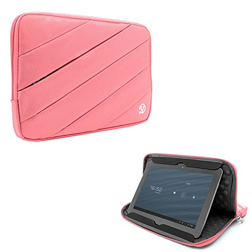 Price comparison product image Fashion Tablet Sleeve Notebook Pouch Bag Carrying Case 9.7inch / 10.1inch for Huawei Mediapad T3 10 / M2 / M3 Light / LG G Pad 10.1 / Onda V919 / V10 Pro / V10 Plus (Pink)