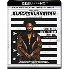 BlacKkKlansman arrives on Digital Oct. 23 and on 4K Ultra HD, Blu-ray, and DVD Nov. 6 from Universal