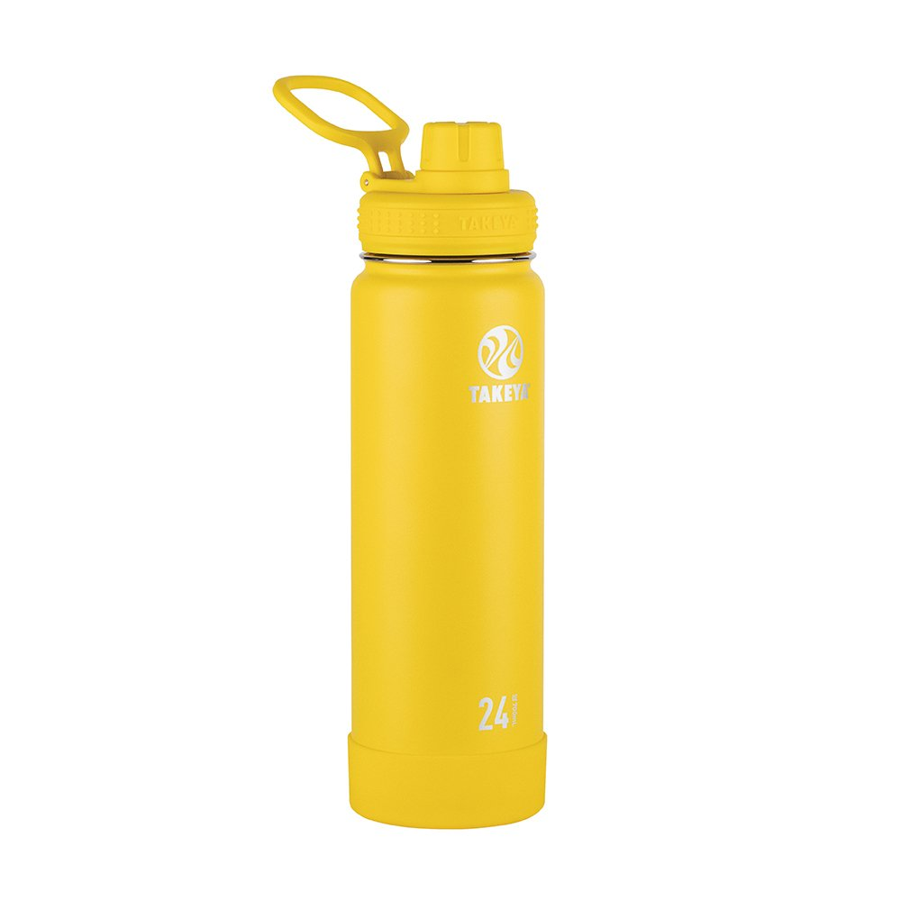 Takeya 51051 Actives Insulated Stainless Bottles, 24 oz, Solar