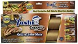 Yoshi Copper Grill & Bake Mats 2-Pack