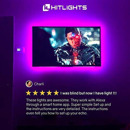 HitLights-LED-Strip-Lights-Smart-Phone-Controlled-WiFi-Wireless-Voice-Activated-Light-Strip-Kit–164Ft-5050-BRG-LED-Lights-Compatible-with-Android-iOS-System-Alexa-and-Google-Assistant