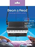 Beam n Read LED 6 Hands-Free Task Light; Extra Wide & Extra Bright Light from 6 LEDs Plus 2 Blue Light Blocking Relaxation Filters [2015]