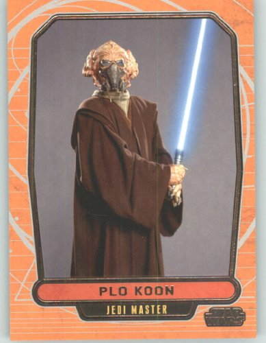 2012 Star Wars Galactic Files #82 Plo Koon (Non-Sport Collectible Trading Cards) from Star Wars