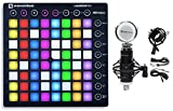 Novation LAUNCHPAD S MK2 MKII MIDI USB RGB Controller Pad+Studio Mic+Shock Mount