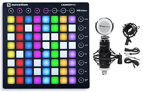 novation-launchpad-s-mk2-mkii-midi-usb-rgb-controller-pad-studio-mic-shock-mount