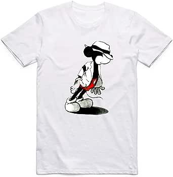 White Miki Jackson T-Shirt For Boys - size 3-4 years