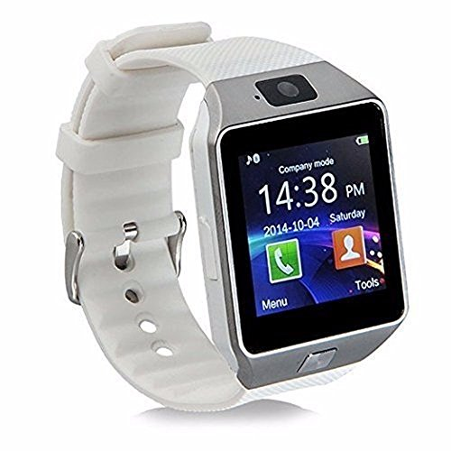 Alike C05 Bluetooth Smart Watch for Iphone & Android Smart Watche (White)