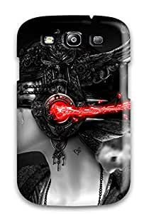 Premium Music Art Back Cover Snap On Case For Galaxy S3